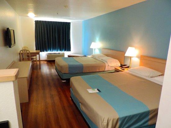 Motel 6 Seaside Oregon: Double Guest Room