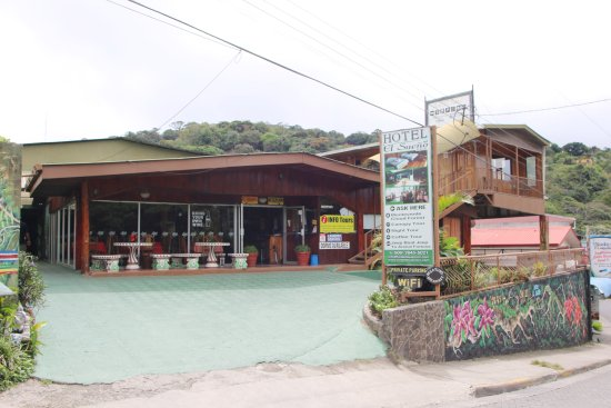 Hotel El Sueno: Entrada principal