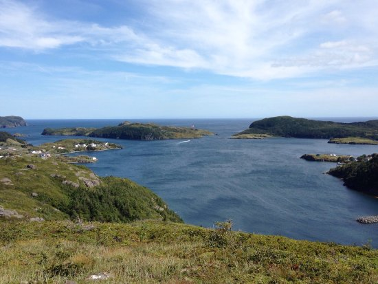 Burin, Canada : View from the top cooks lookout