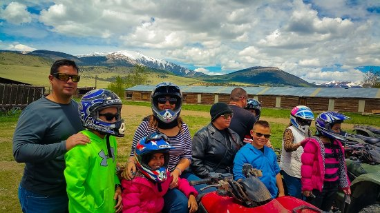 American Safari Ranch: Group on ATV Adventure