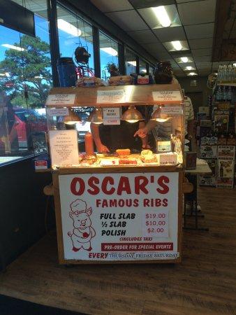 Hollister, MO : Oscar's Stand