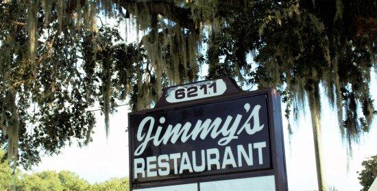Jimmy's Boulevard Restaurant: Signage on Grand Blvd