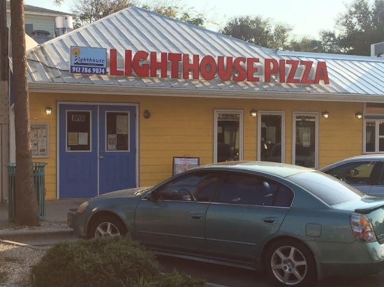 Lighthouse Pizza: On 16th st.