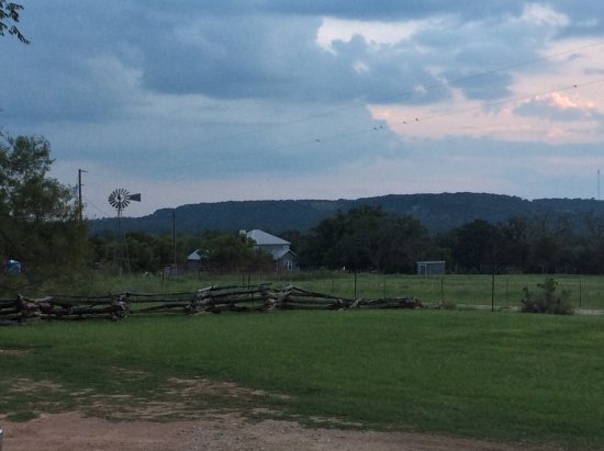 Luckenbach, TX: View from the porch