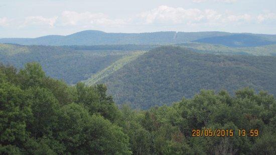 Lanesboro, MA: Incredible view from Mt. Greylock
