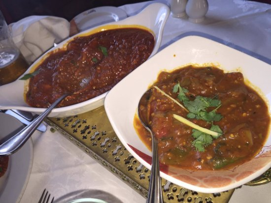Nether Alderley, UK: great tasting curry