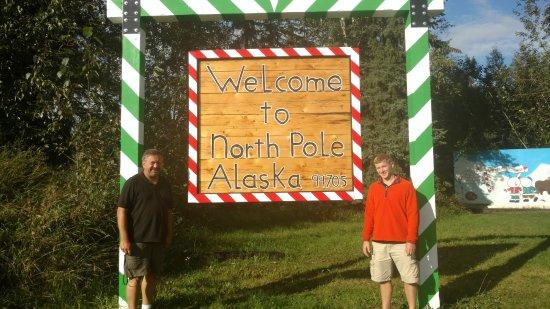 Santa Claus House: north pole