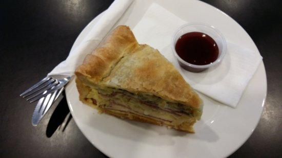 Tokoroa, Nueva Zelanda: Bacon and egg pie