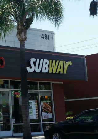 La Habra, CA: Subway