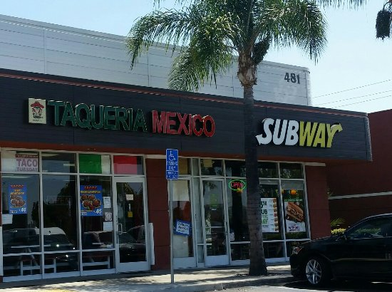 La Habra, Kalifornia: Subway