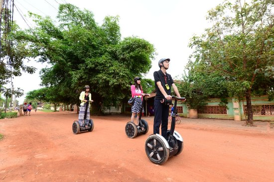Segway Cambodia Tour