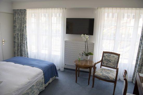 Storchen Zurich: Schlafzimmer