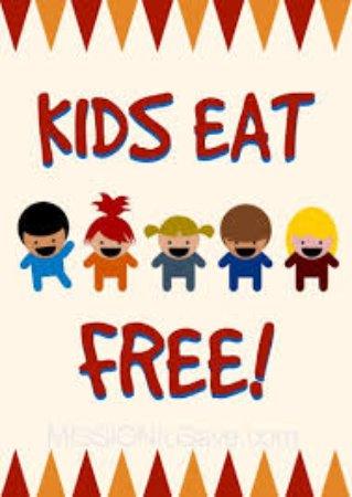 Free kids meals