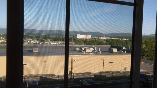 Microtel Inn & Suites by Wyndham Wilkes Barre : view of casino from room 318