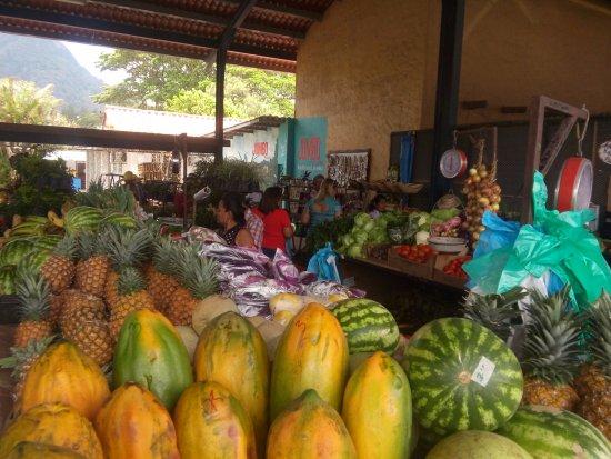 Sunday Market : fruits and vegetables