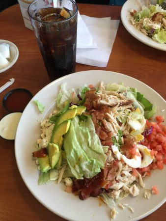 Rice Lake, WI: Cobb salad- average.