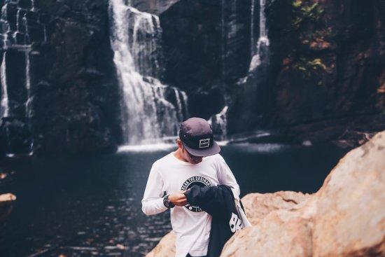 Wildlife Tours Australia: a picture of me at mackenzie falls!