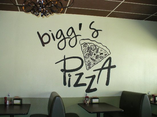 Colorado City, تكساس: They're Bigg's on pizza here.