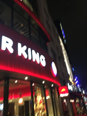 Burger King Leicester Square : B K  at  L   S
