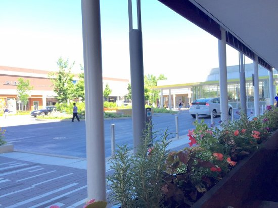 Antico Posto : View from outdoor seating