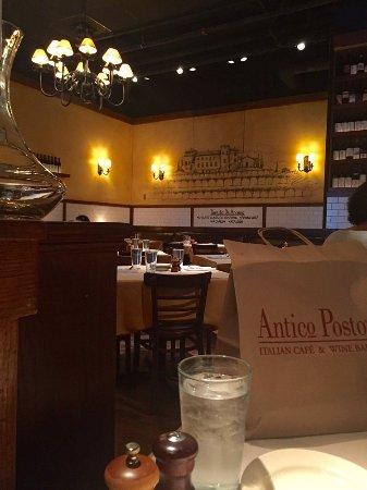 Antico Posto: Dining area