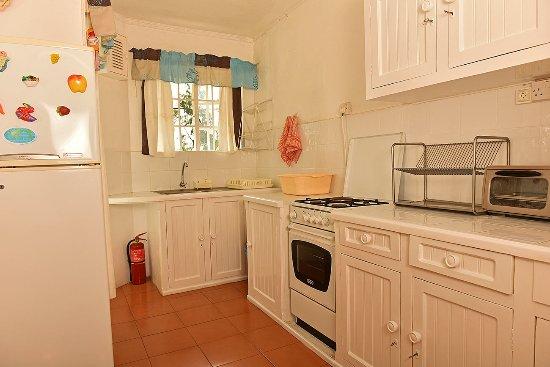 Chez Pat Bungalows and Apartments: Alamanda Kitchen