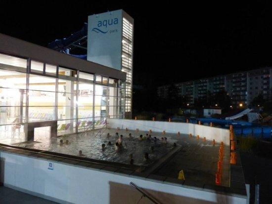 Uherske Hradiste, Czech Republic: Teplý bazén z venku