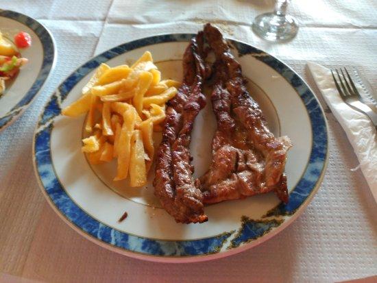 San Juan del Puerto, España: Lagarto: carne asada riquísima