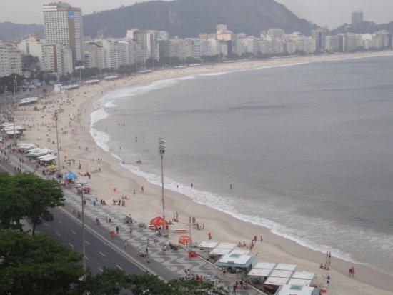 Sofitel Rio de Janeiro Copacabana: vista dalla mia camera