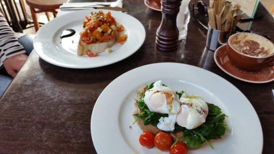 Breakfast this morning - Picture of Cinque Cucina e Caffe, Mona Vale ...
