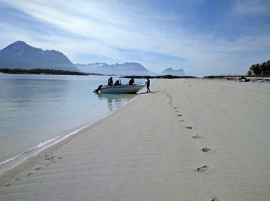 Тромс, Норвегия: Coral beach of Færøya
