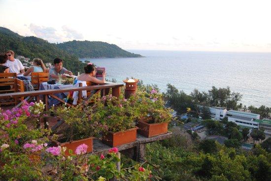 Baan Chom View: Вид на океан