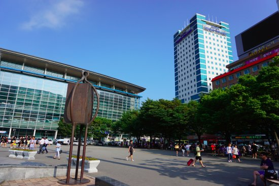 Toyoko Inn Busan No.1: Busan KTX Station Next to the Hotel