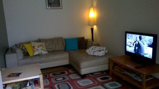 Harrietville, ออสเตรเลีย: Avalon Rest with corner spa