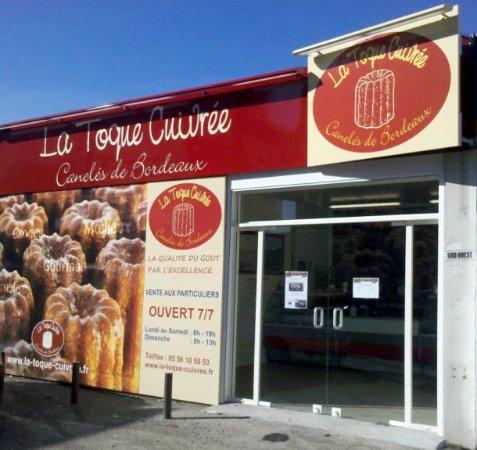 เลอบูส์กาต์, ฝรั่งเศส: La Toque Cuivrée Le Bouscat