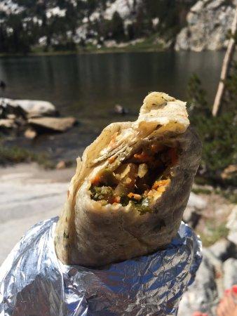 Stellar Brew & Deli: Vegan burrito