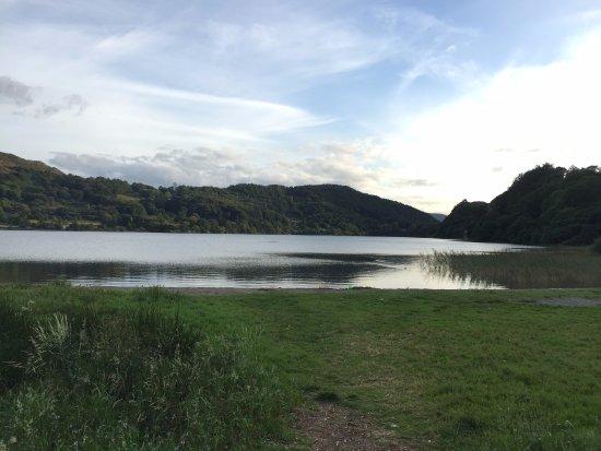 Nant Gwynant, UK: Llyn Gwynant lake