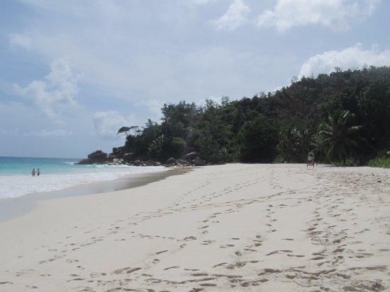 Anse Georgette: Beach