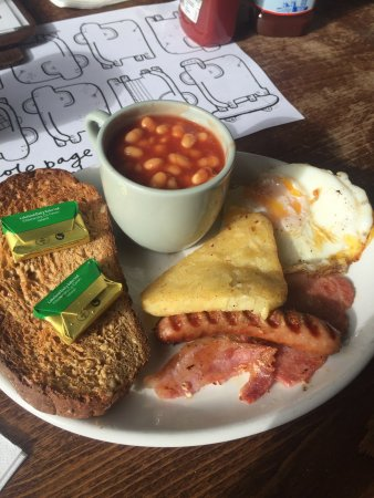 The Big Rock Cafe: Small breakfast