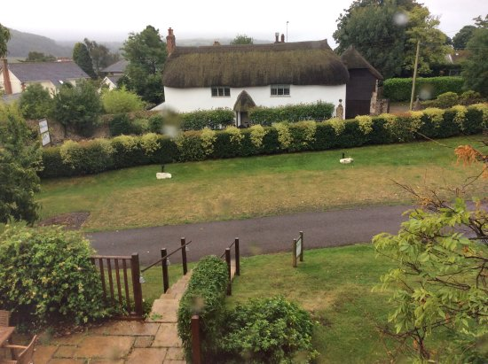 Colyford, UK: View from bedroom window