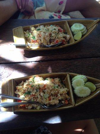 Longtail Beach Resort: Fried rice
