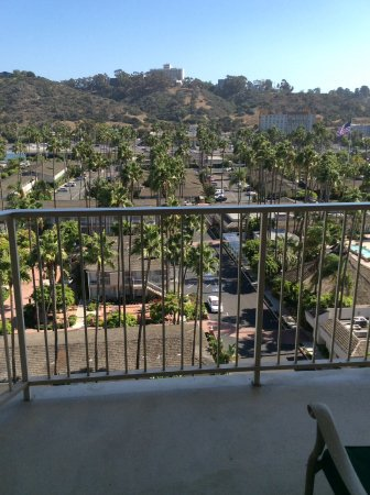 Town and Country Resort & Convention Center: View from balcony.
