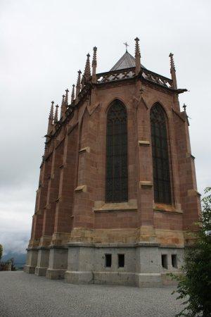 Schenna Castle and the Mausoleum Photo