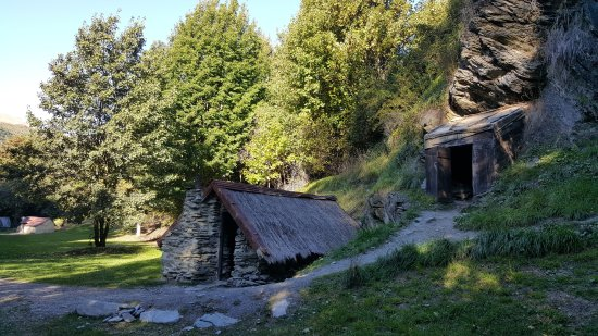 Arrowtown, Nowa Zelandia: 礦工小屋