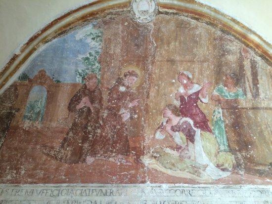 Sant'Anatolia di Narco, Italia: affresco all'interno