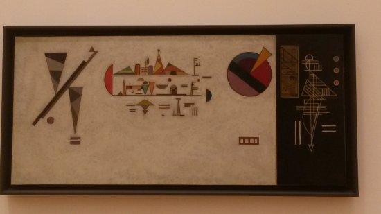 Musée d'Art moderne et contemporain : Musikzimmer von Kandinsky 1