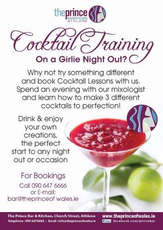 Athlone, Irlanda: Cocktail training