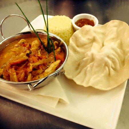 Athlone, Irlanda: Yummy chicken curry