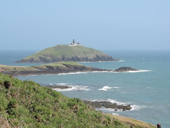 Ballycotton, Irlanda: lighthouse from the cliff walk