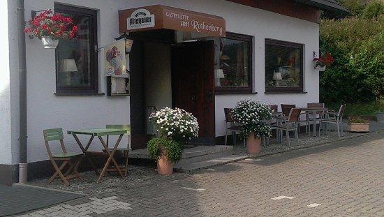 Altenau, Jerman: Gaststätte am Rothenberg von vorne